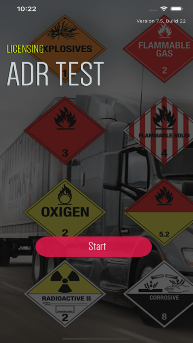 ADR QUIZ - Dangerous Goods screenshot 1