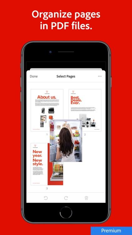 Adobe Acrobat Reader PDF Maker screenshot-9