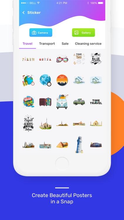 Poster Maker - Flyer Maker screenshot-4