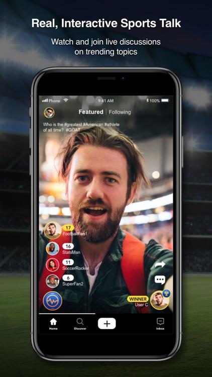 SportsMe Social Sports Video screenshot-0