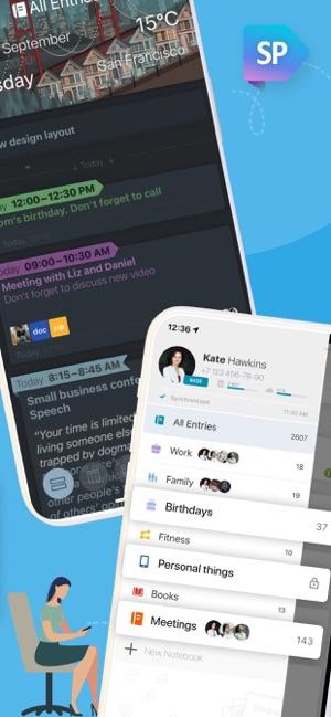 Simplanum - Calendar and Notes Screenshot