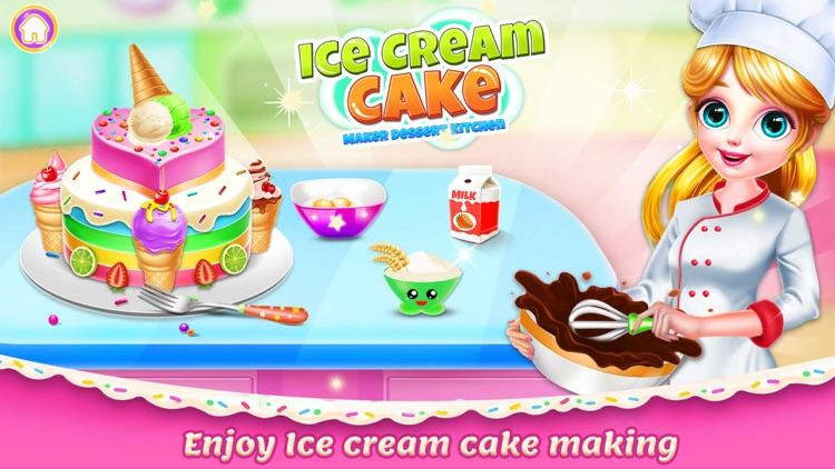 Ice Cream Cake Maker chef screenshot-0