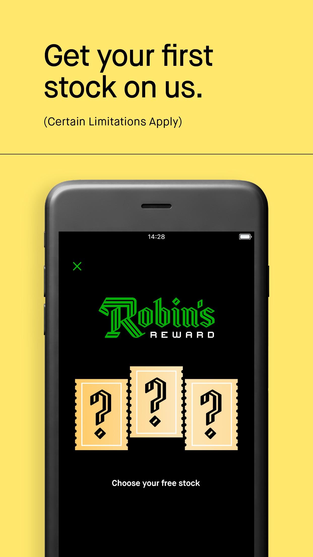 Screenshot do app Robinhood: Investing for All