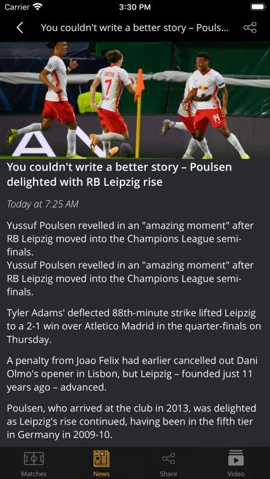 Football Today - Top matches screenshot 3