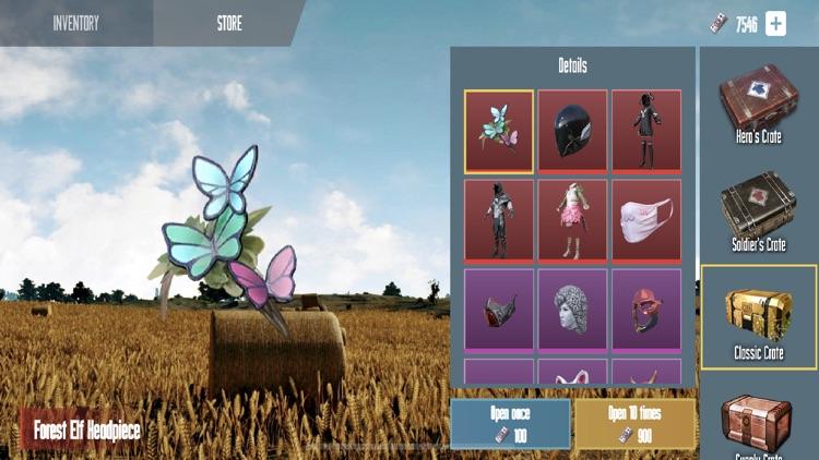 Crate simulator for PUBGM screenshot-3