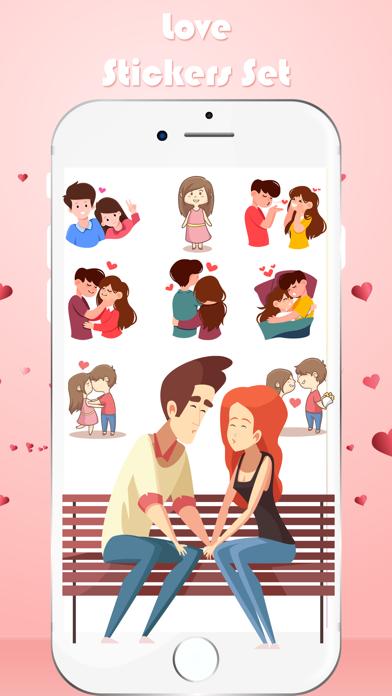 Love Toon Stickers screenshot 2