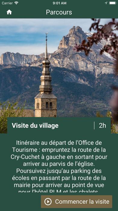 Visite de Combloux screenshot 2