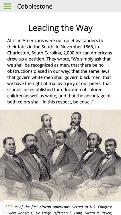 Cobblestone Mag: U.S. History screenshot-5