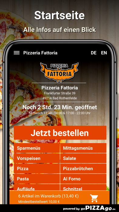 Pizzeria Fattoria Bad screenshot 2