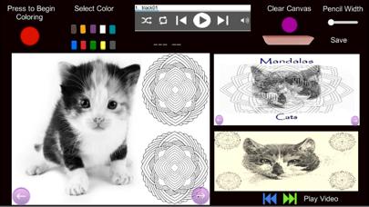 Mandalas - Cats screenshot 3