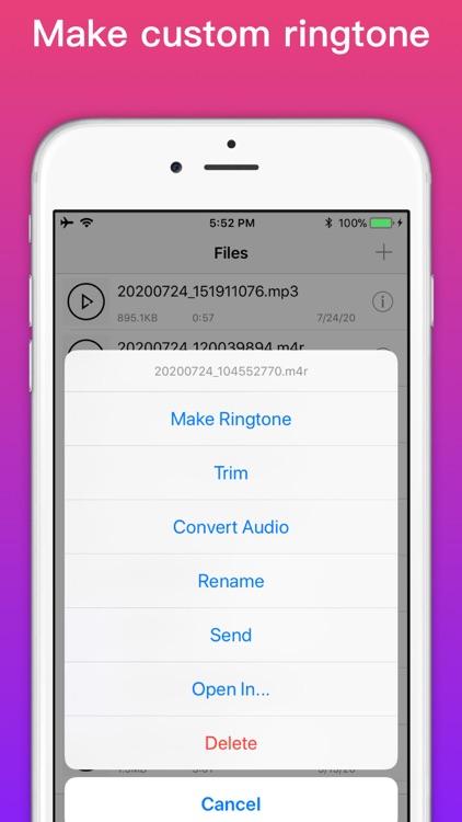 Ringtone Maker - extract audio