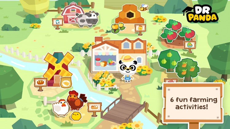 Dr. Panda Farm screenshot-0