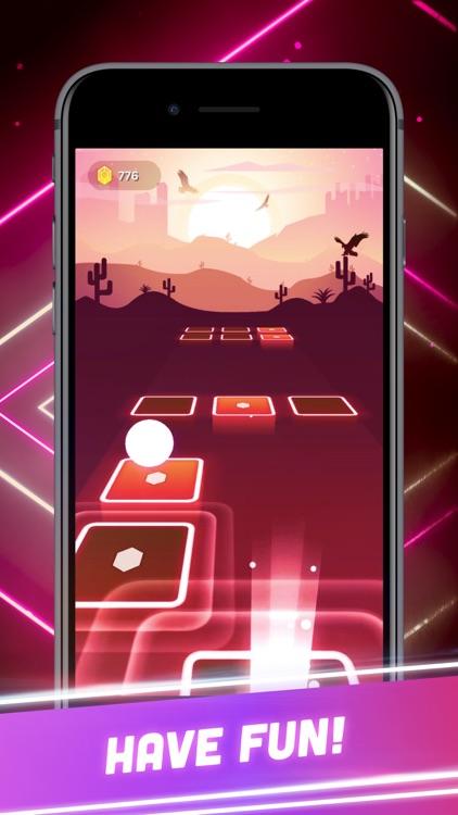 Hop Tiles 3D: Hit music game screenshot-4