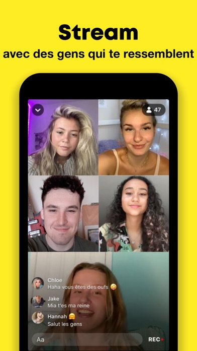 Télécharger Yubo - Livestream, chat, joue. pour Pc