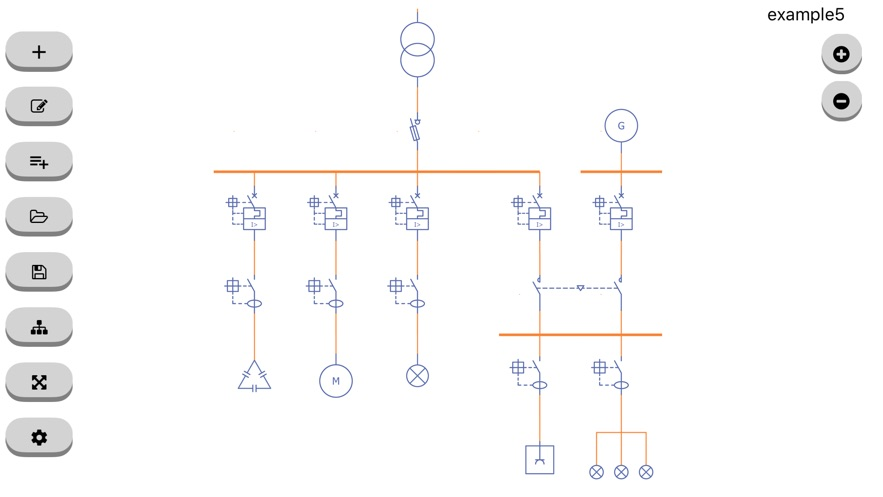 Unifilar - Esquemas eléctricosweb应用程序开发