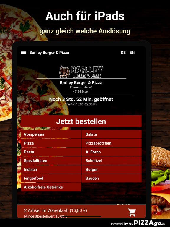 Barlley Burger - Pizza Essen screenshot 7
