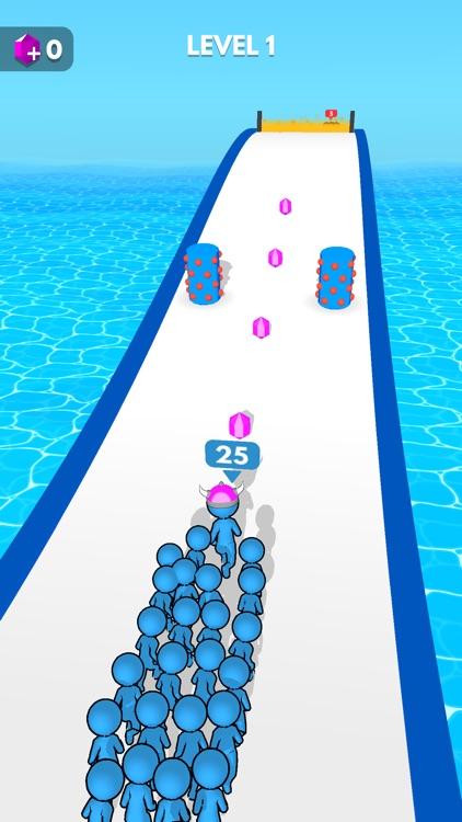 Crowd Battle 3D screenshot-5