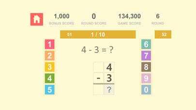 数学の基礎 Math Quiz - 自然数 加算、減算 1紹介画像3