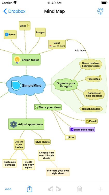 SimpleMind Pro - Mind Mapping