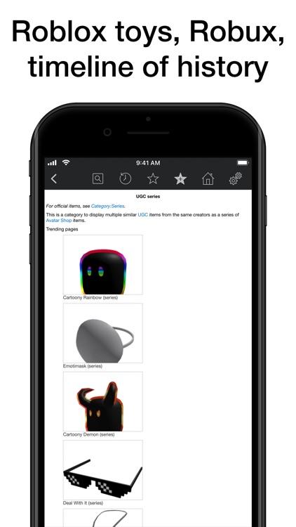 Pocket Wiki for Roblox screenshot-3