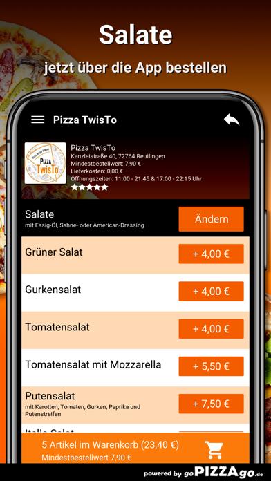 Pizza TwisTo Reutlingen screenshot 5