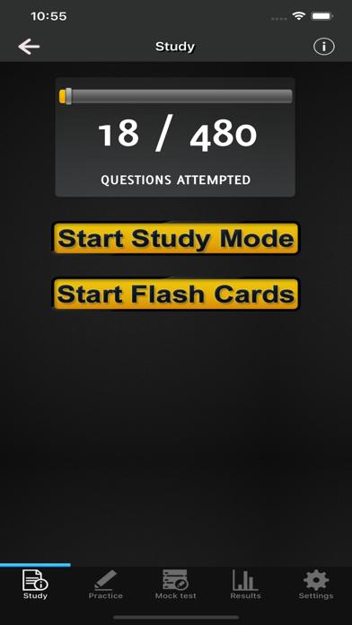 Massage Therapy Exams screenshot 2