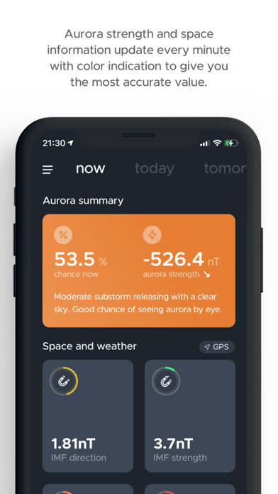 hello aurora: forecast appのおすすめ画像1