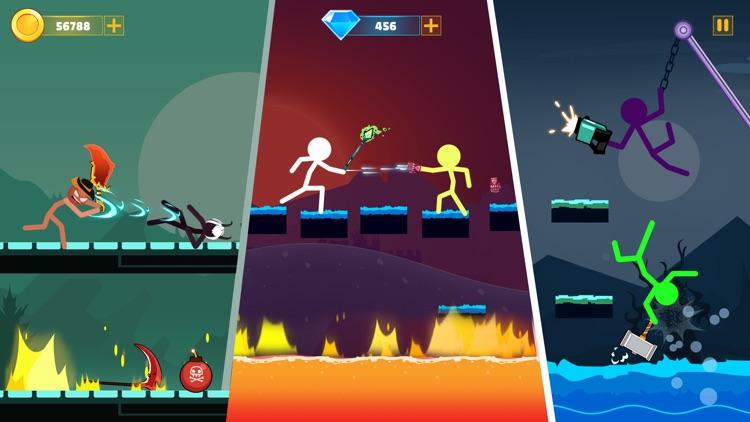 Stickman Duelist Warrior Game screenshot-3