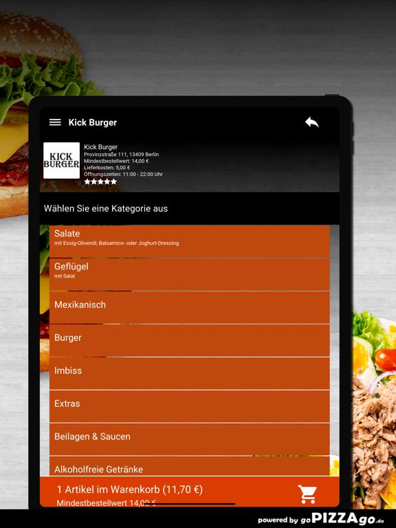 Kick Burger Berlin screenshot 8