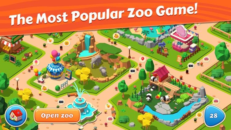 Zoo Tiles: Animal Park Planner screenshot-4