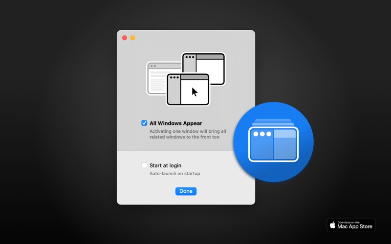 All Windows Appear Screenshots