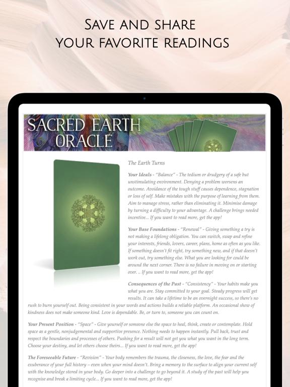 Sacred Earth Oracle screenshot 19