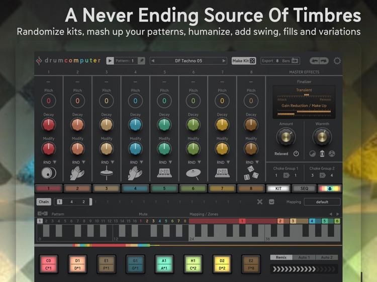 DrumComputer - Synthetic Beats screenshot-3