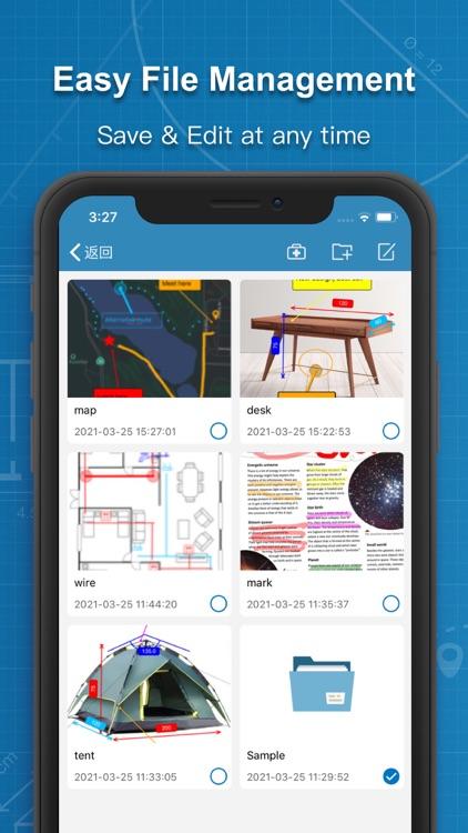 Photos Measure - Image meter screenshot-3