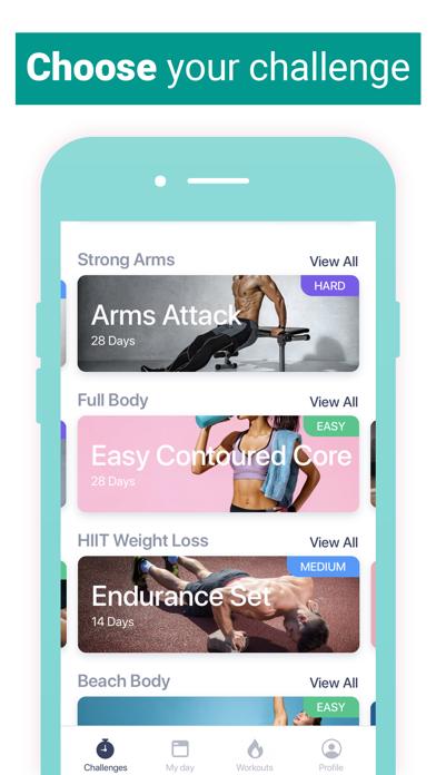 HitFit - At Home Workouts Screenshot