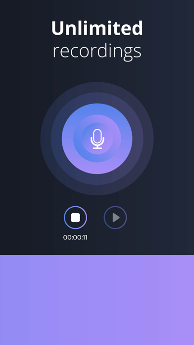 Audio Editor: Recording Studio Screenshot