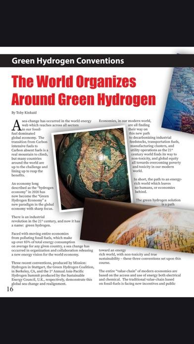Green Hydrogen Today MagazineScreenshot of 2
