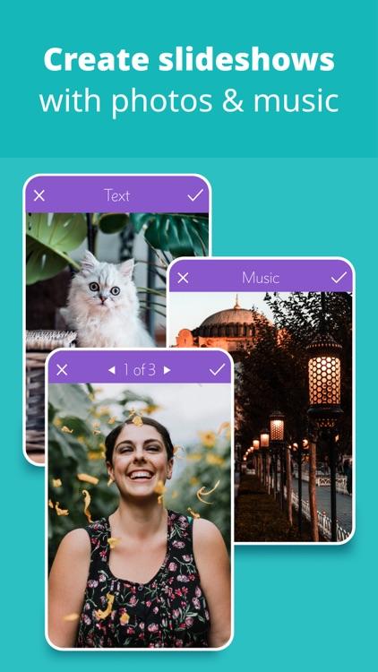 Slideshow: Turn Photo to Video