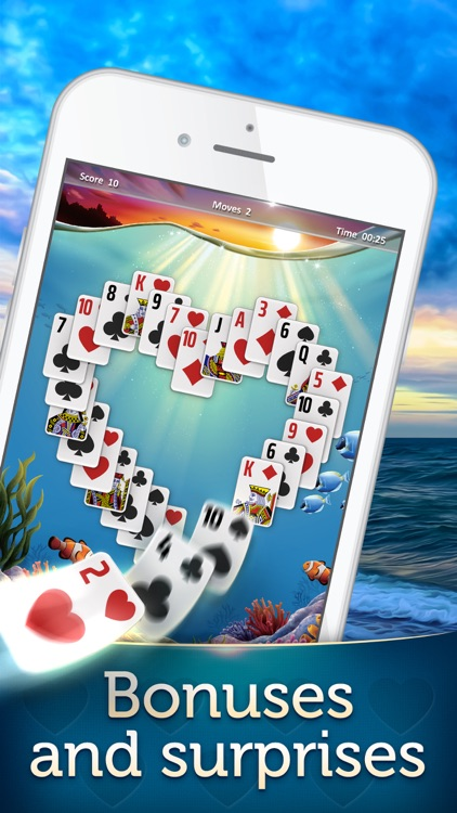 Magic Solitaire - Card Games screenshot-3