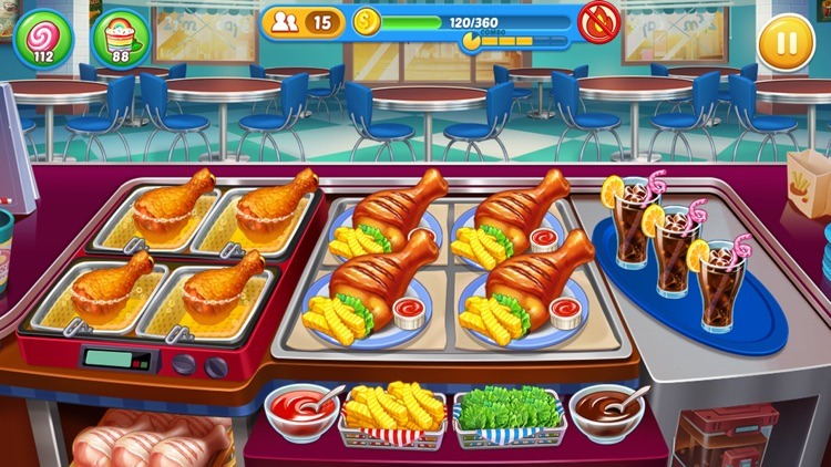Crazy Chef Cooking Games