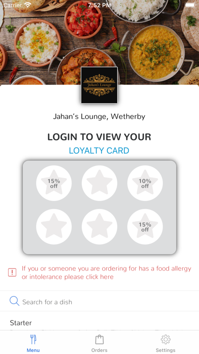 Jahan's Lounge, Wetherby screenshot 1