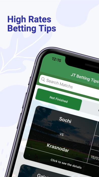 JT Betting Tips PRO - كرة القدلقطة شاشة1