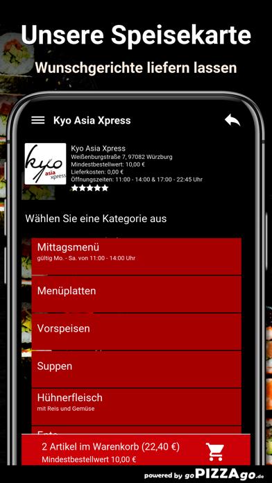 Kyo Asia Xpress Würzburg screenshot 4