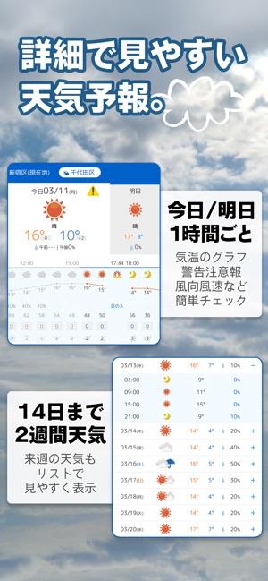 週間 天気 2