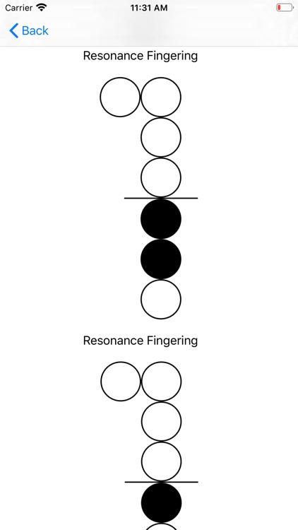 Wind Instrument Fingerings