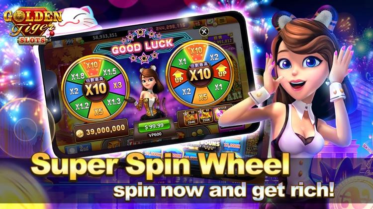Golden Tiger Slots - Slot Game screenshot-4