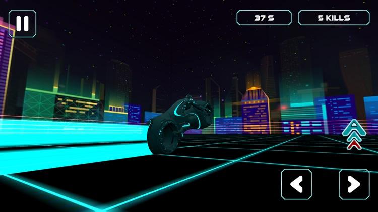 Neon Race - Light Bike Race screenshot-6