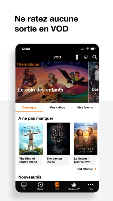 messages.download TV d'Orange • Direct & VOD software