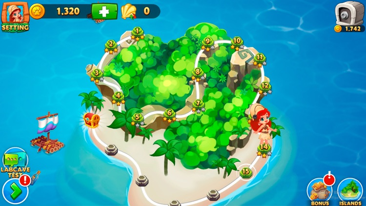 Solitaire Tripeaks Lost Worlds screenshot-4