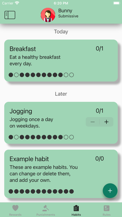 messages.download Obedience: BDSM habit tracker software